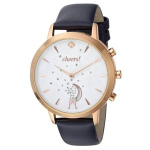 Kate Spade Grand Navy Smart Hybrid champagne Watch